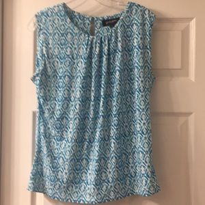 Grayson print,  sleeveless top,  shell